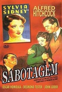 Sabotagem - Poster / Capa / Cartaz - Oficial 6