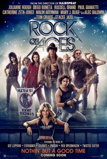 Rock of Ages: O Filme - Poster / Capa / Cartaz - Oficial 1