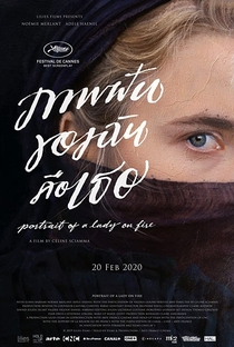 Retrato de uma Jovem em Chamas - Poster / Capa / Cartaz - Oficial 10