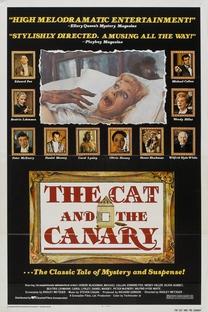 O Gato e o Canario - Poster / Capa / Cartaz - Oficial 1