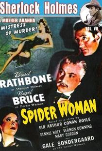Sherlock Holmes e a Mulher Aranha - Poster / Capa / Cartaz - Oficial 1