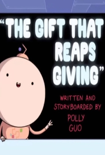 Adventure Time: The Gift That Reaps Giving - Poster / Capa / Cartaz - Oficial 1