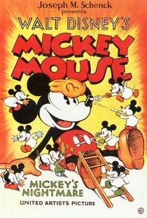 Mickey's Nightmare - Poster / Capa / Cartaz - Oficial 1