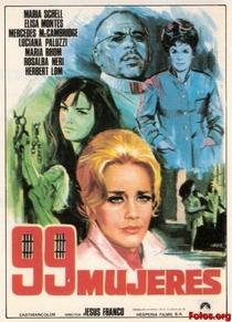 99 Mulheres - Poster / Capa / Cartaz - Oficial 3