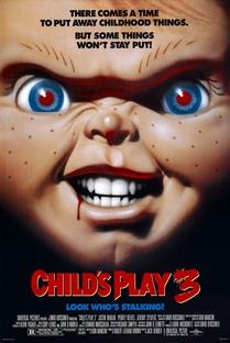 Brinquedo Assassino 3 - Poster / Capa / Cartaz - Oficial 1