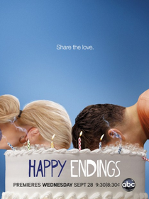 Happy Endings (2ª Temporada) - Poster / Capa / Cartaz - Oficial 1