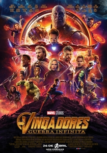 Vingadores: Guerra Infinita - Poster / Capa / Cartaz - Oficial 1