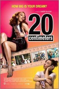 20 Centímetros - Poster / Capa / Cartaz - Oficial 1