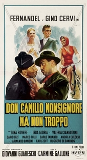 As Últimas Aventuras de Don Camillo - Poster / Capa / Cartaz - Oficial 1