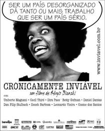Cronicamente Inviável - Poster / Capa / Cartaz - Oficial 5