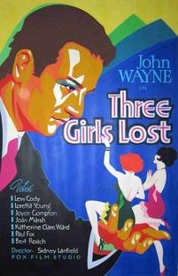 Três Garotas Perdidas - Poster / Capa / Cartaz - Oficial 1