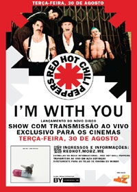 Red Hot Chili Peppers: Im With You - Poster / Capa / Cartaz - Oficial 1