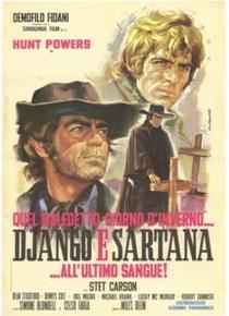 Django e Sartana – Até o Último Sangue  - Poster / Capa / Cartaz - Oficial 1