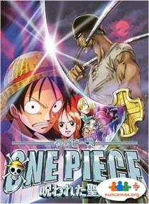 One Piece 5 - A Maldição da Espada Sagrada - Poster / Capa / Cartaz - Oficial 2