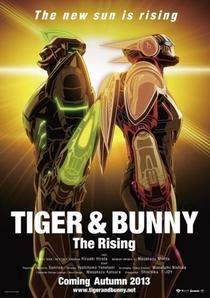 Tiger & Bunny 2: The Rising - Poster / Capa / Cartaz - Oficial 2