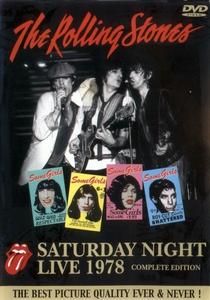 Rolling Stones - Saturday Night Live 1978 - Poster / Capa / Cartaz - Oficial 1