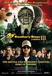 20th Century Boys 3 : Our Flag - Poster / Capa / Cartaz - Oficial 1