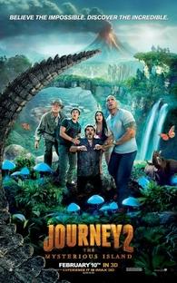 Viagem 2 - A Ilha Misteriosa - Poster / Capa / Cartaz - Oficial 1
