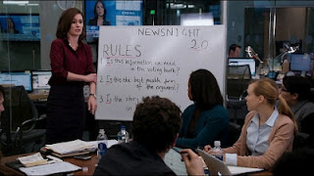 The Newsroom - 1x02: News Night 2.0