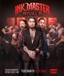 Ink Master: Rivais (5ª Temporada) - Poster / Capa / Cartaz - Oficial 1