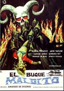 El Buque Maldito - Poster / Capa / Cartaz - Oficial 3