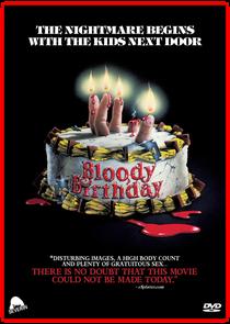 Aniversário Sangrento - Poster / Capa / Cartaz - Oficial 6