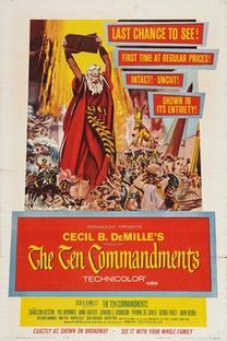 Os Dez Mandamentos - Poster / Capa / Cartaz - Oficial 6
