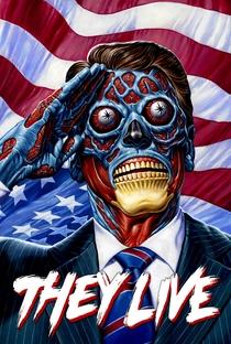 Eles Vivem - Poster / Capa / Cartaz - Oficial 1