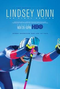 Lindsey Vonn: A Temporada Final - Poster / Capa / Cartaz - Oficial 1
