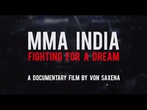 MMA India: Fighting for a Dream - Poster / Capa / Cartaz - Oficial 1