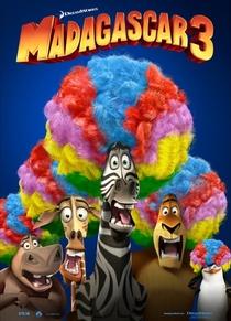 Madagascar 3: Os Procurados - Poster / Capa / Cartaz - Oficial 3