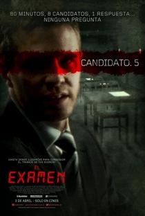 Exame - Poster / Capa / Cartaz - Oficial 4