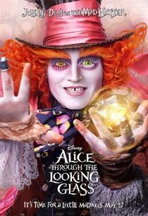 Alice Através do Espelho - Poster / Capa / Cartaz - Oficial 7