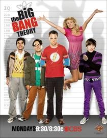 Big Bang: A Teoria (2ª Temporada) - Poster / Capa / Cartaz - Oficial 2