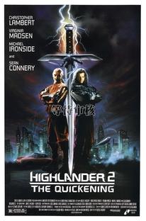Highlander II - A Ressurreição - Poster / Capa / Cartaz - Oficial 2