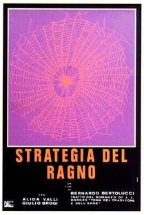 A Estratégia da Aranha - Poster / Capa / Cartaz - Oficial 1