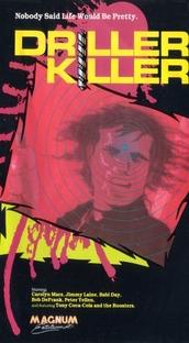 O Assassino da Furadeira - Poster / Capa / Cartaz - Oficial 2