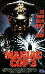 Maniac Cop 3 - O Distintivo do Silêncio - Poster / Capa / Cartaz - Oficial 1