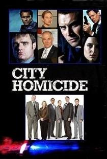 City Homicide - Poster / Capa / Cartaz - Oficial 1