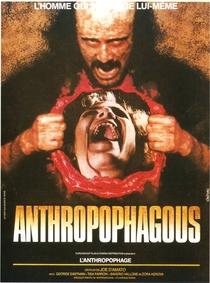 O Antropófago - Poster / Capa / Cartaz - Oficial 1