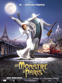 Um Monstro em Paris - Poster / Capa / Cartaz - Oficial 3