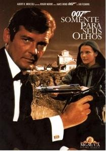 007 - Somente Para Seus Olhos - Poster / Capa / Cartaz - Oficial 6
