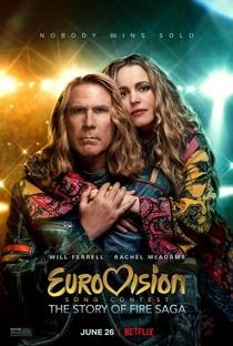 Festival Eurovision da Canção: A Saga de Sigrit e Lars - Poster / Capa / Cartaz - Oficial 1