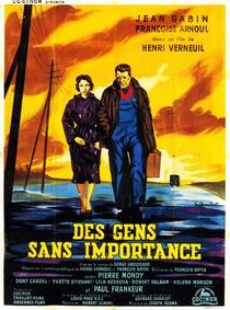 Des Gens Sans Importance - Poster / Capa / Cartaz - Oficial 1