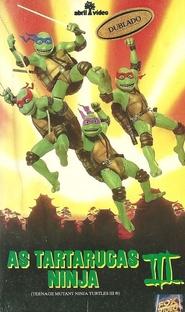As Tartarugas Ninja III - Poster / Capa / Cartaz - Oficial 3