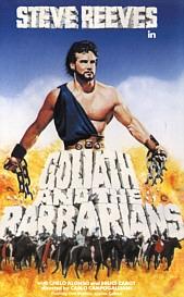 Golias Contra Os Bárbaros - Poster / Capa / Cartaz - Oficial 1