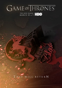Game of Thrones (4ª Temporada) - Poster / Capa / Cartaz - Oficial 24