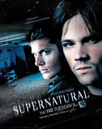 Sobrenatural (3ª Temporada) - Poster / Capa / Cartaz - Oficial 2