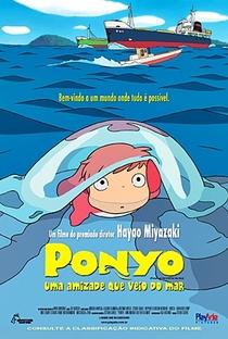 Ponyo: Uma Amizade que Veio do Mar - Poster / Capa / Cartaz - Oficial 12