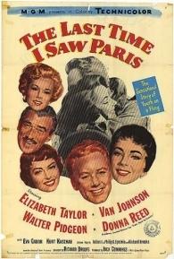 A Última Vez Que Vi Paris - Poster / Capa / Cartaz - Oficial 4